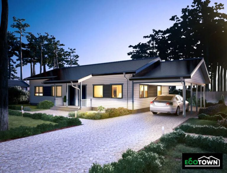 casa prefabricada 140