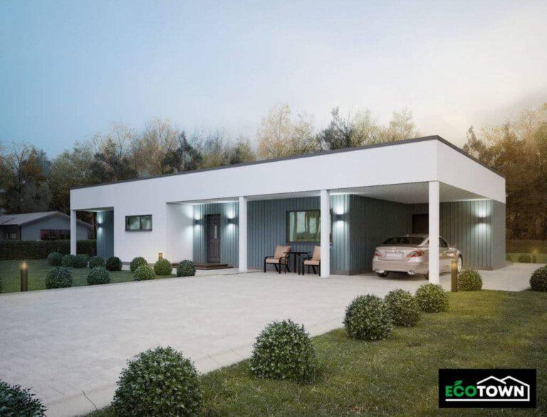 casa prefabricada modelo 181