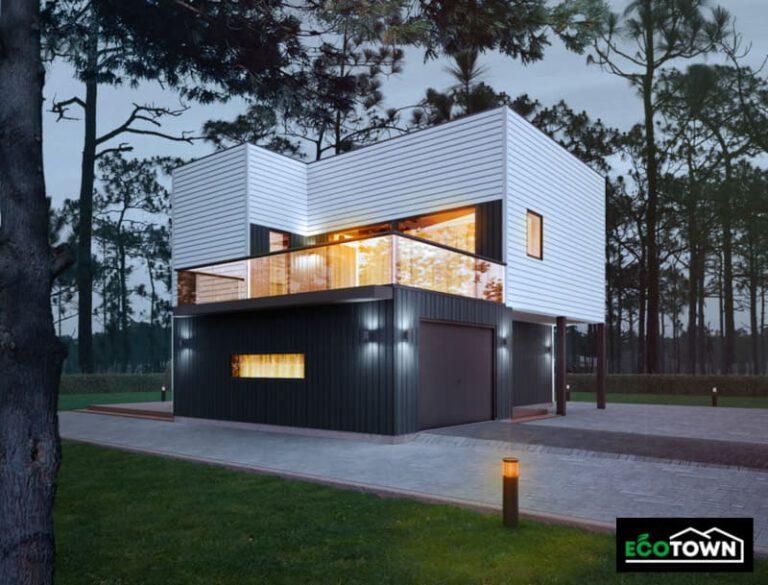 casa prefabricada modelo 208