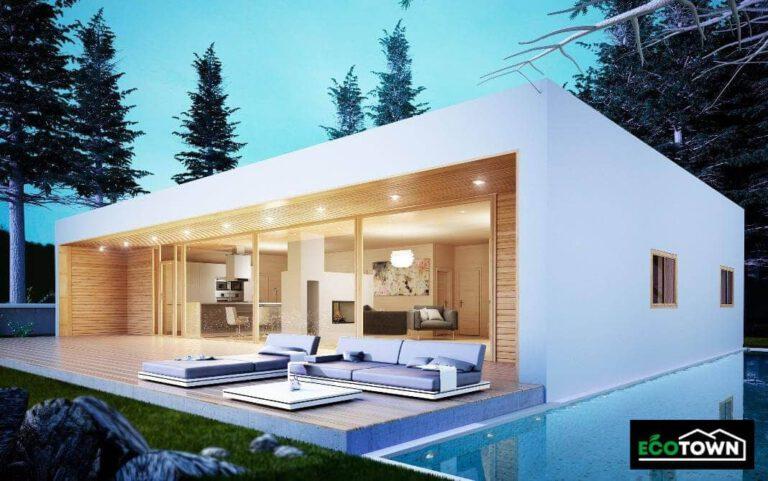 casa prefabricada modelo 150